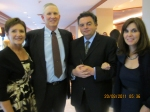 Me and Nancy with Dr. Abecassis and His Wife